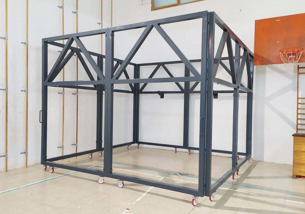 Estructura soporte Red Casteller