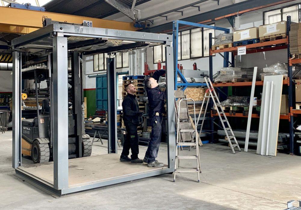 Módulo/construcción industrializada/fabricación