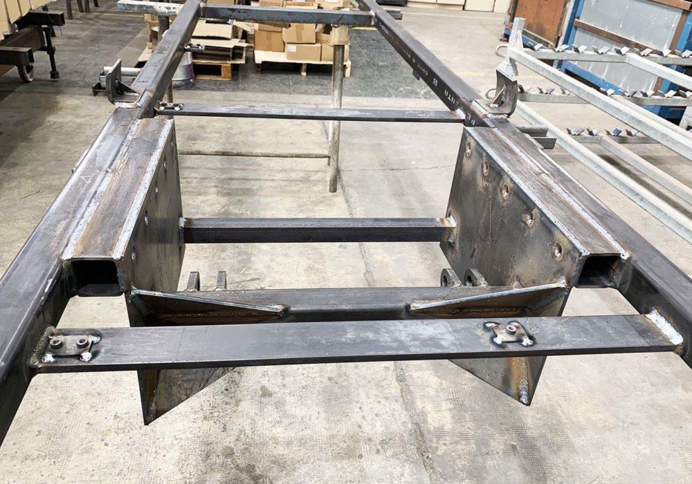 Fabricación Chasis/soldadura/corte plasma cnc