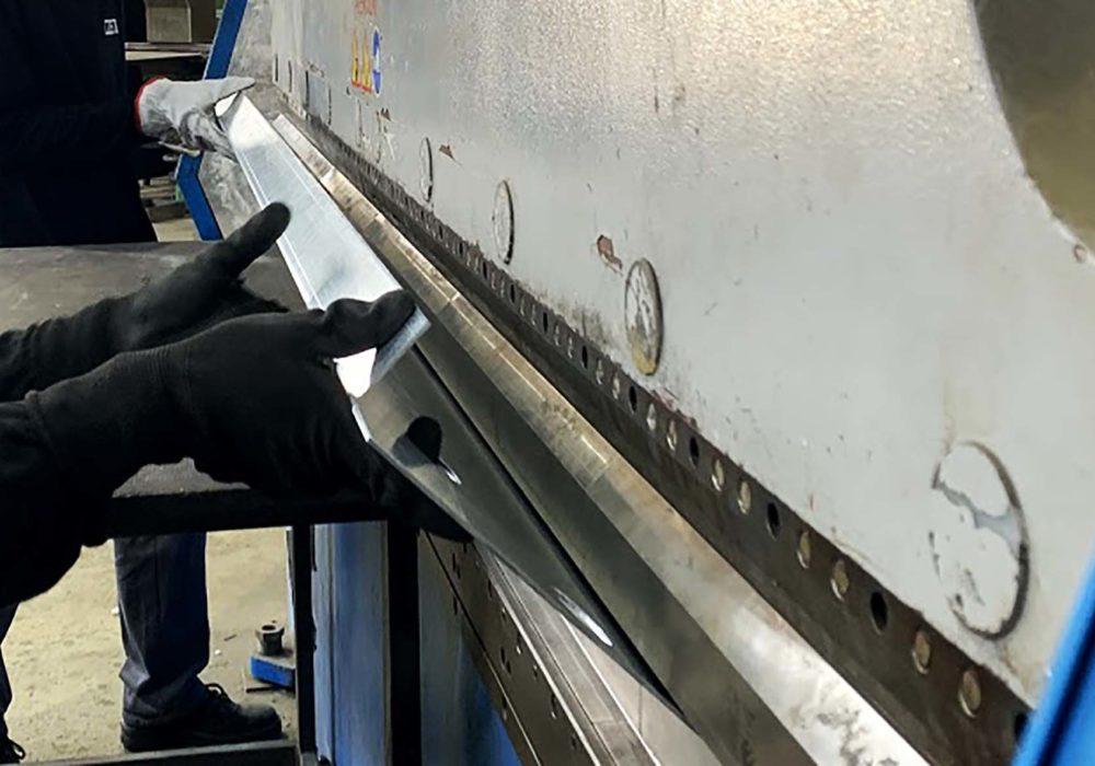 Plegado piezas/CNC/transformaciones metálicas
