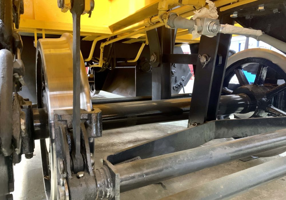 Rehabilitación Tolva/vagón/ferrocarriles/mantenimiento/soldadura/pintado