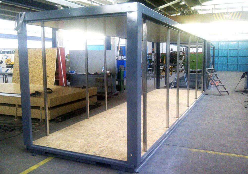 Módulo/estructura metálica/construcción industrializada