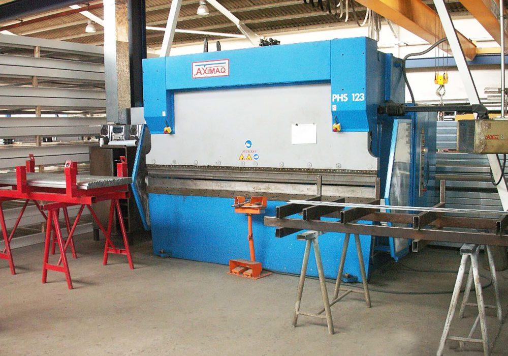 Taller Costa/plegado CNC/transformación metálicas