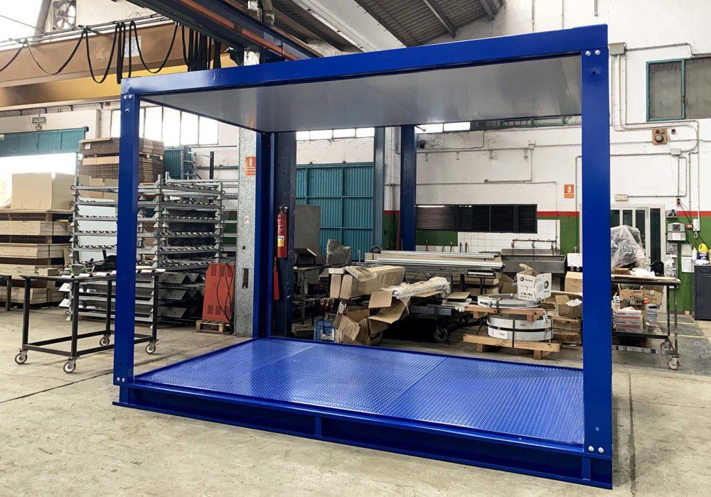 Caseta/construcción modular/estructura metálica/prefabricado