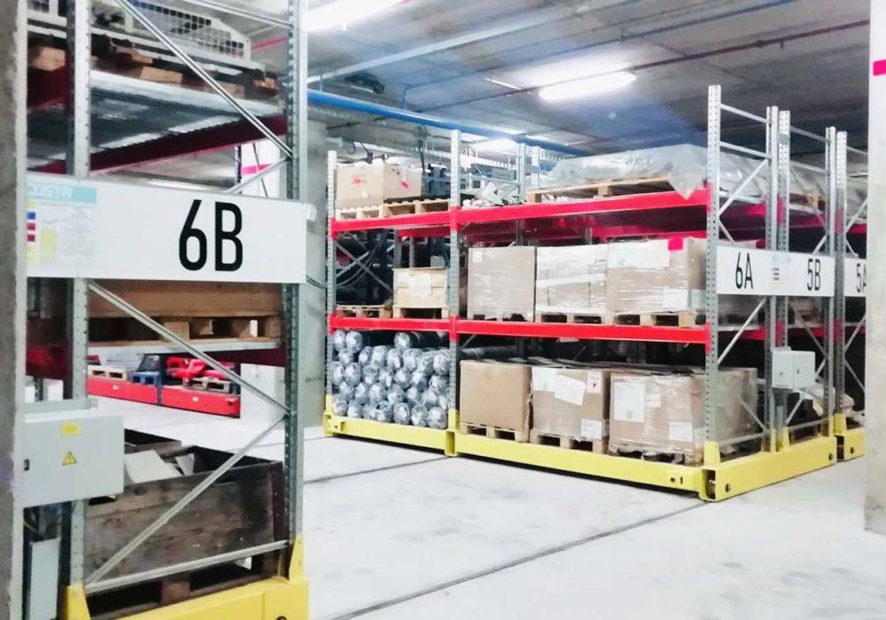 Estanterías Móviles/almacenamiento/paletización/mantenimiento